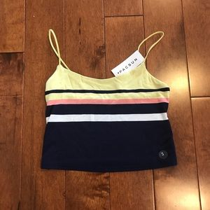 NWT pacsun cropped tank top
